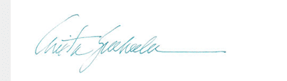 Anita's Signature